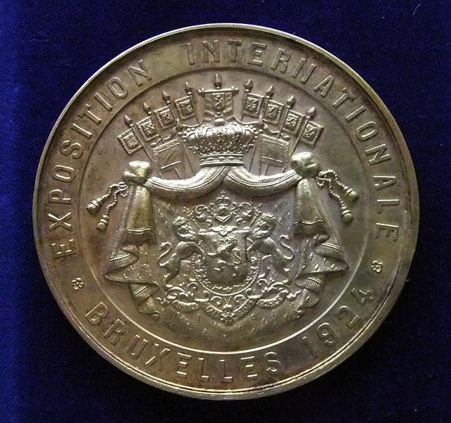 MEDAILLE ALBERT EXPOSITION INTERNATIONALE 1924 REVERS 640.JPG