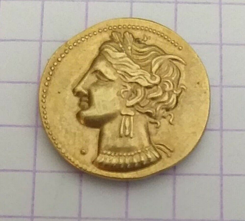 Rare Zeugitane Carthage Statère Electrum à Collectionner photo 01.png